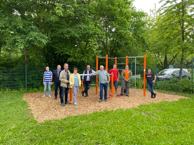 Calisthenics-Park in Lörzweiler ist geöffnet